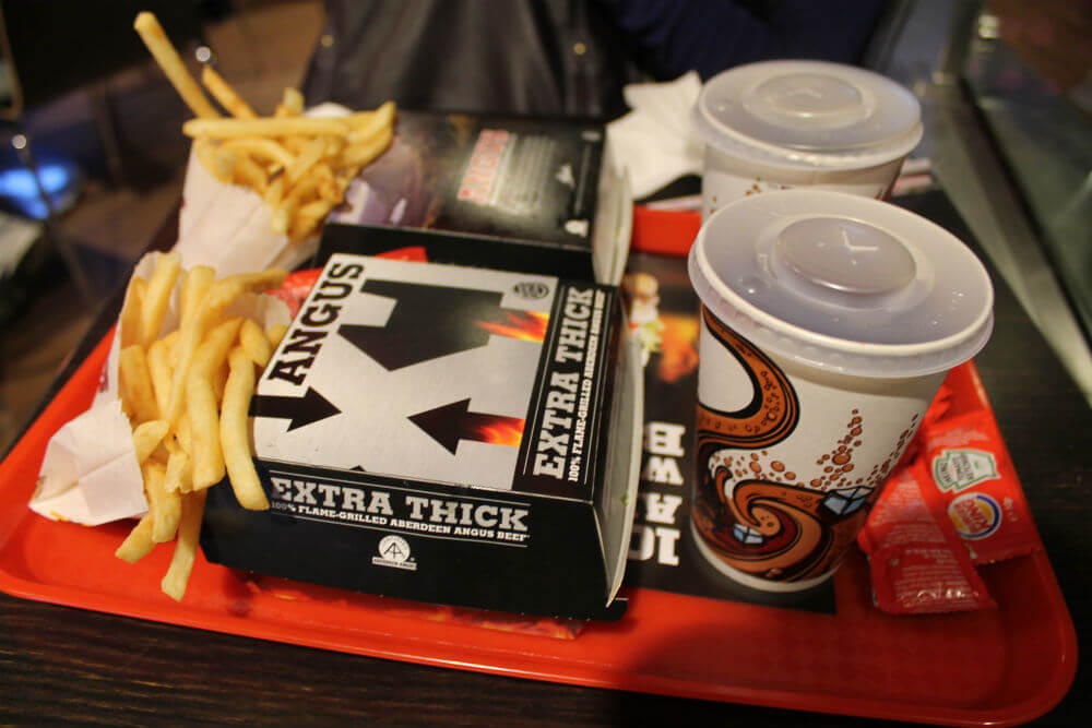Londres - Burger King