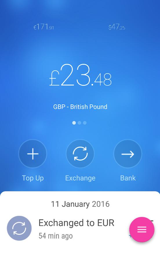 Revolut - Porte monnaie