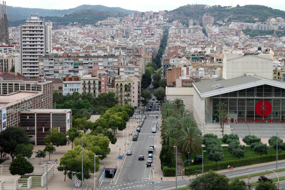 Barcelone - Vue de la Residencia Melon District Marina