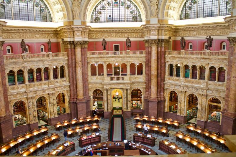 La bibliothèques des Congrès
