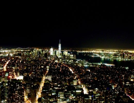 new york empire state buliding nuit