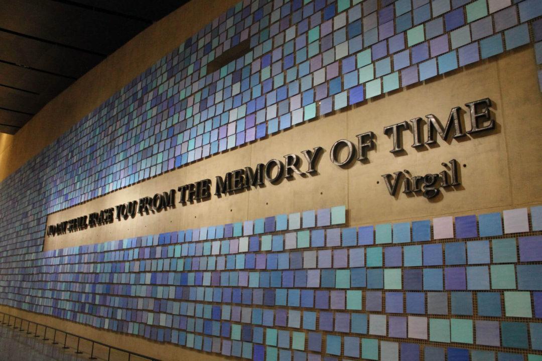 Musée du 11 septembre - Citation Virgil