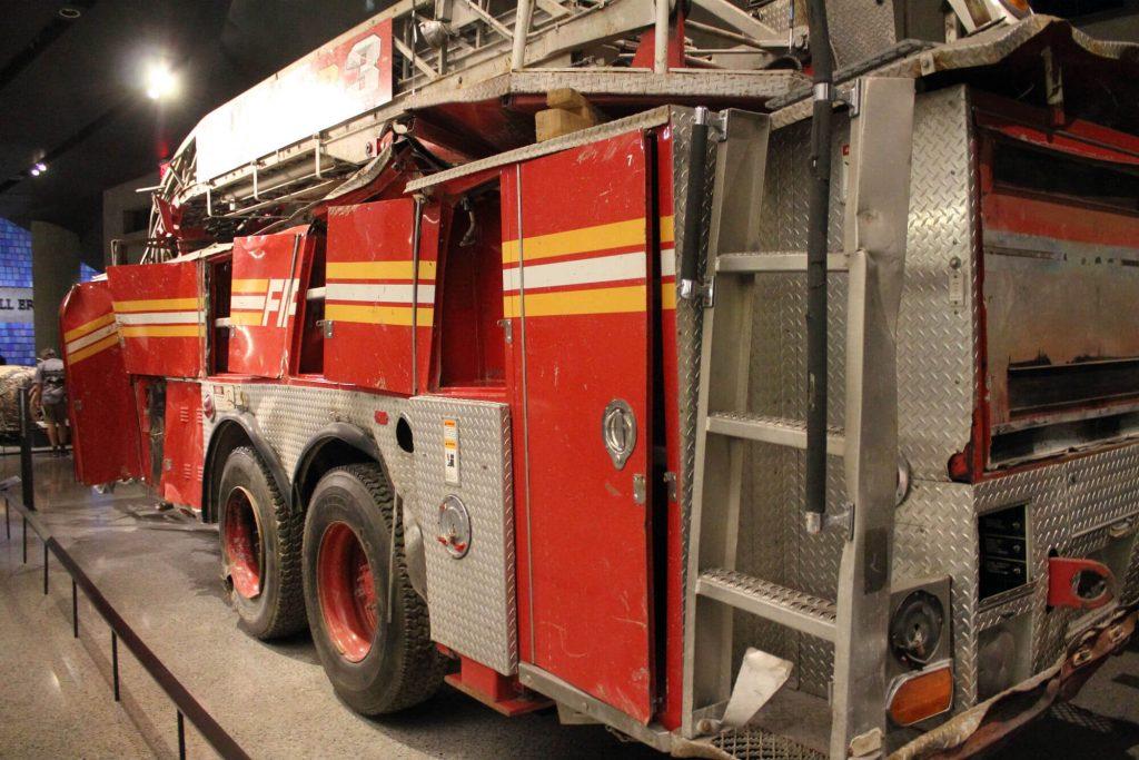 Musée du 11 septembre 2001 - Camion de pompiers
