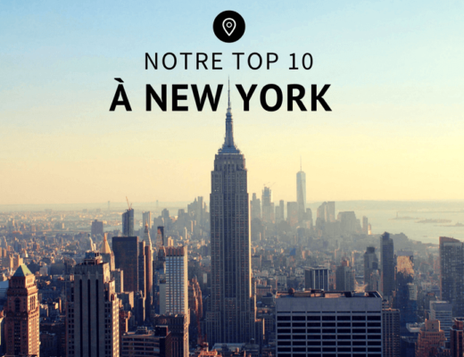 Notre Top 10 à New York