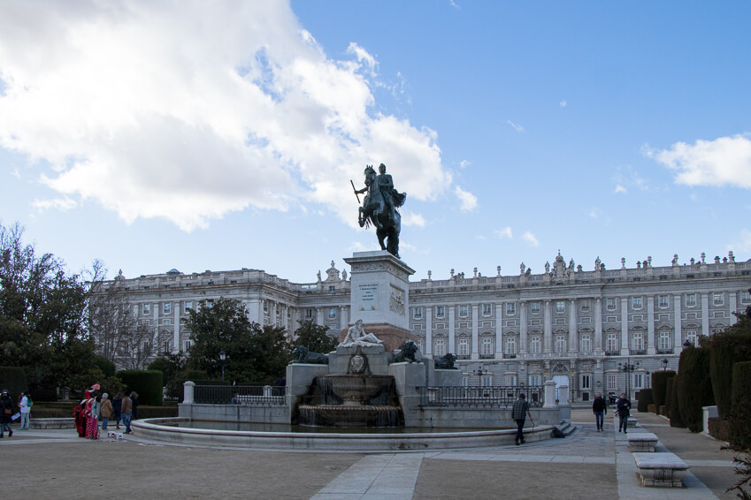 Madrid - Plaza de Oriente