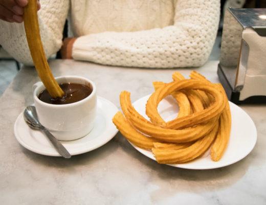 Manger à Madrid : Chocolateria San Gines