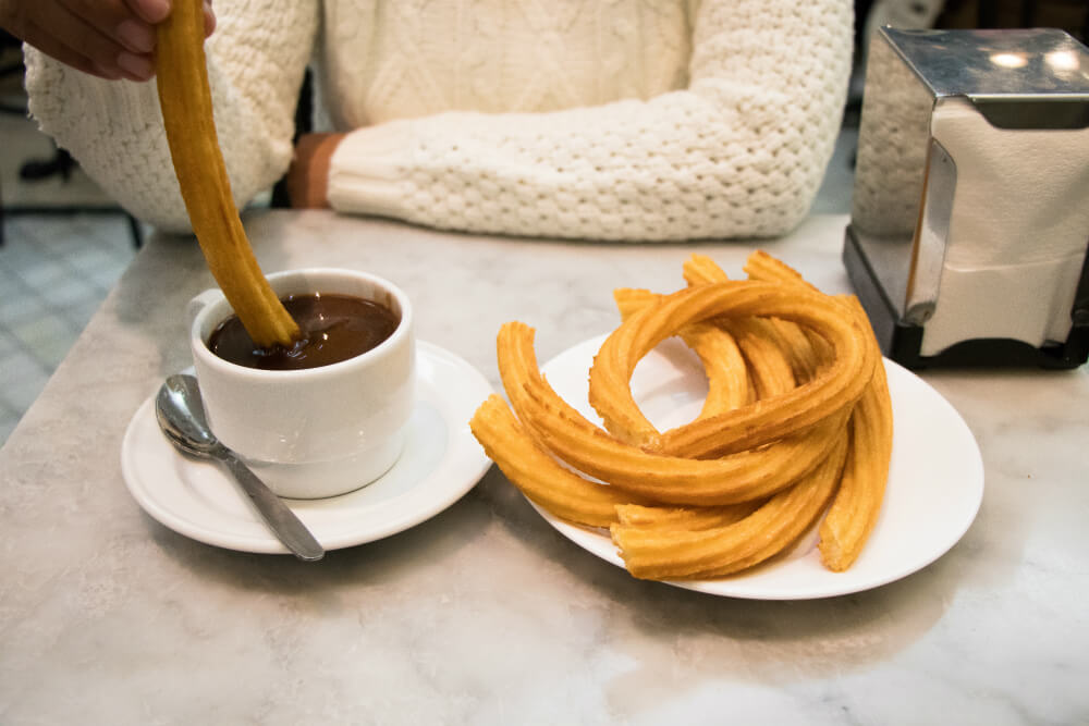 Manger à Madrid : Chocolateria San Gines