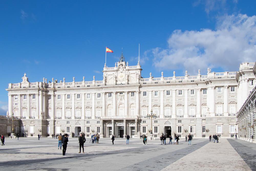 Madrid - Palais royal d'Espagne