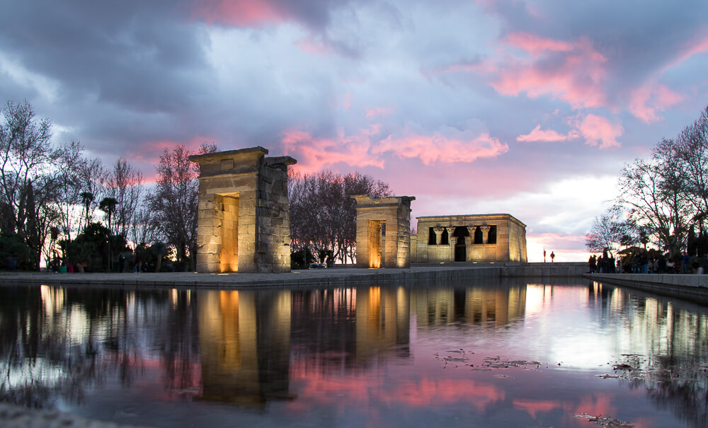 Madrid - Temple d'Amon (Debod)