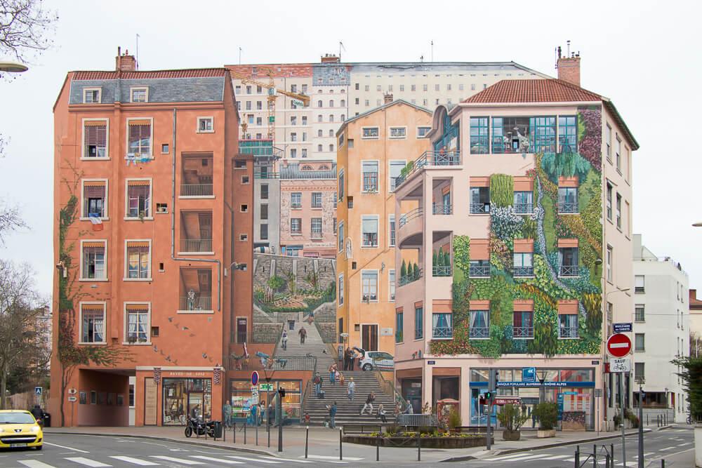 Lyon Fresque des Canuts