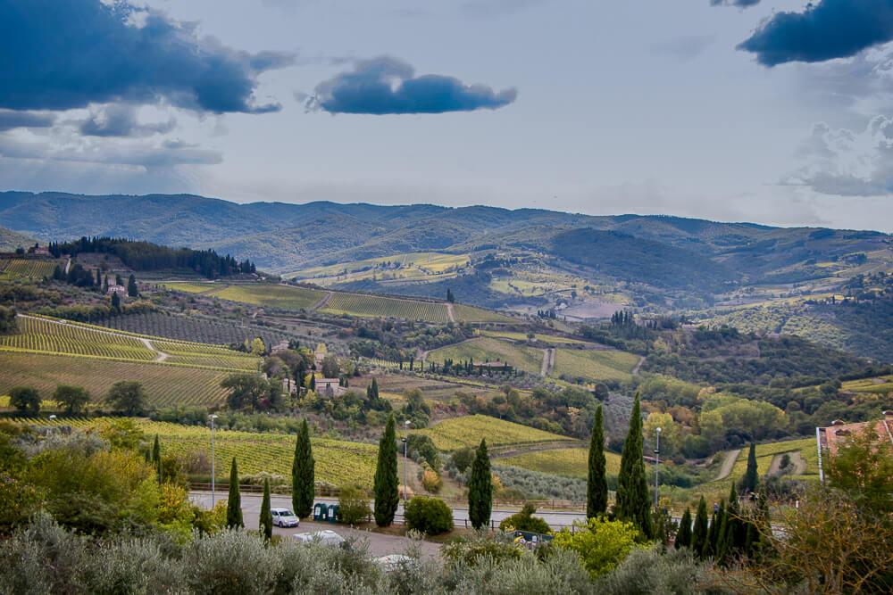 escapade d'1 semaine en Toscane