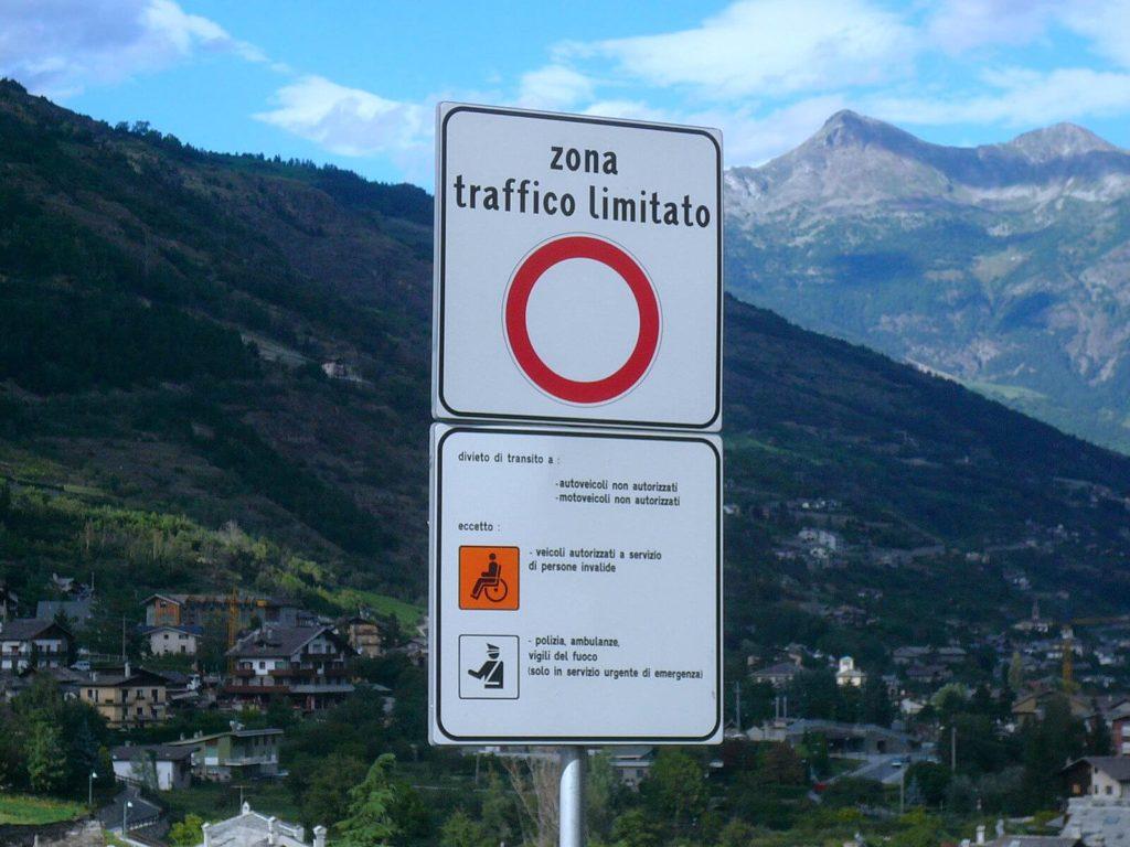 Panneau zone à trafic limité
