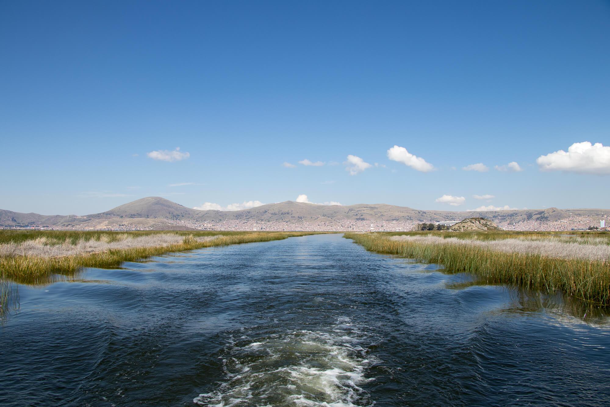 Visite du Lac Titicaca à Puno au Pérou