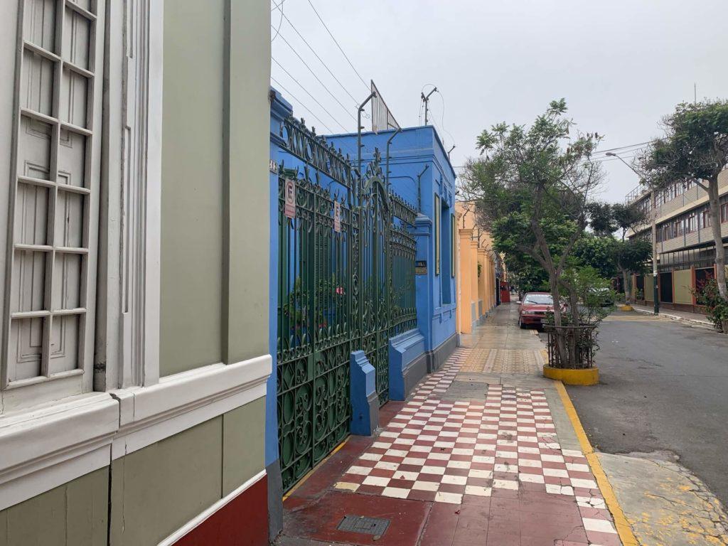 Visite maisons colorées Barranco à Lima