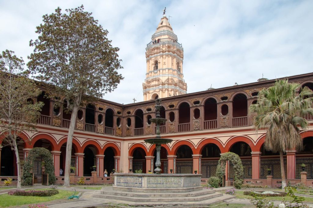 Couvent Santo Domingo Lima