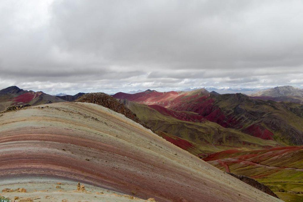 Visiter montagne colorée Palcoyo