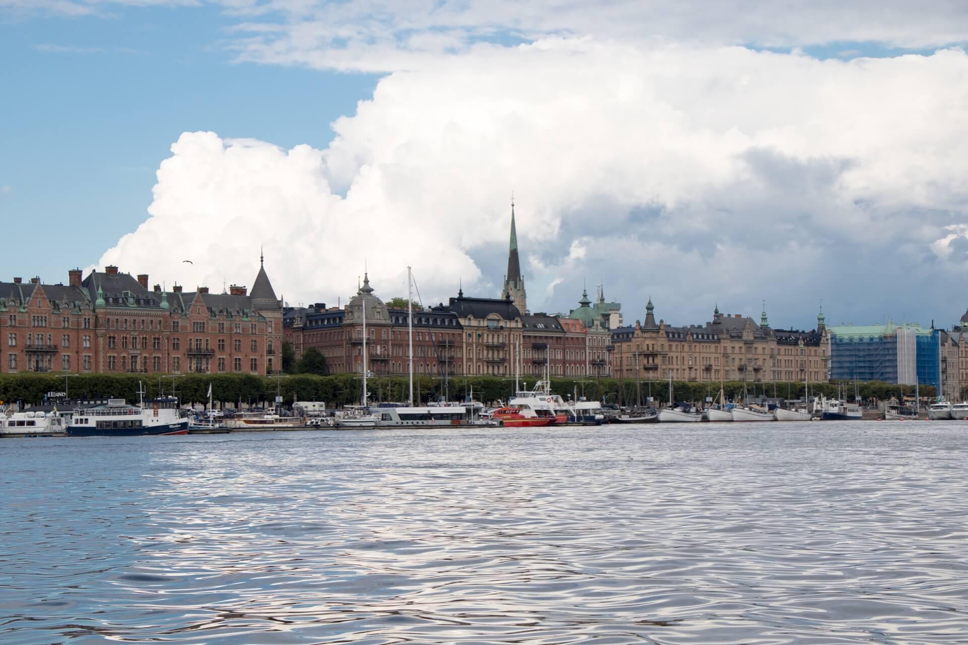 Bateau lors du city trip de 5 jours à Stockholm