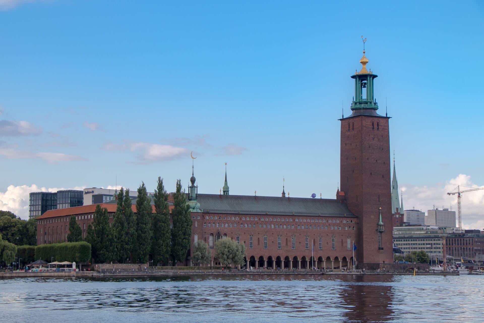 Stockholm : visite hôtel de ville Stadshuset
