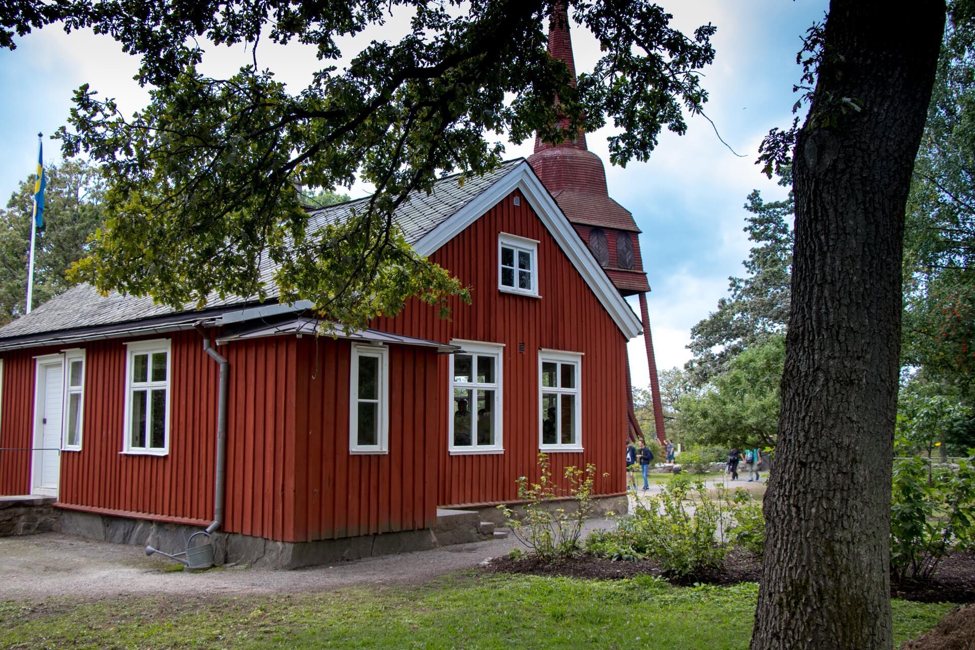 Musée Skansen à Stockholm