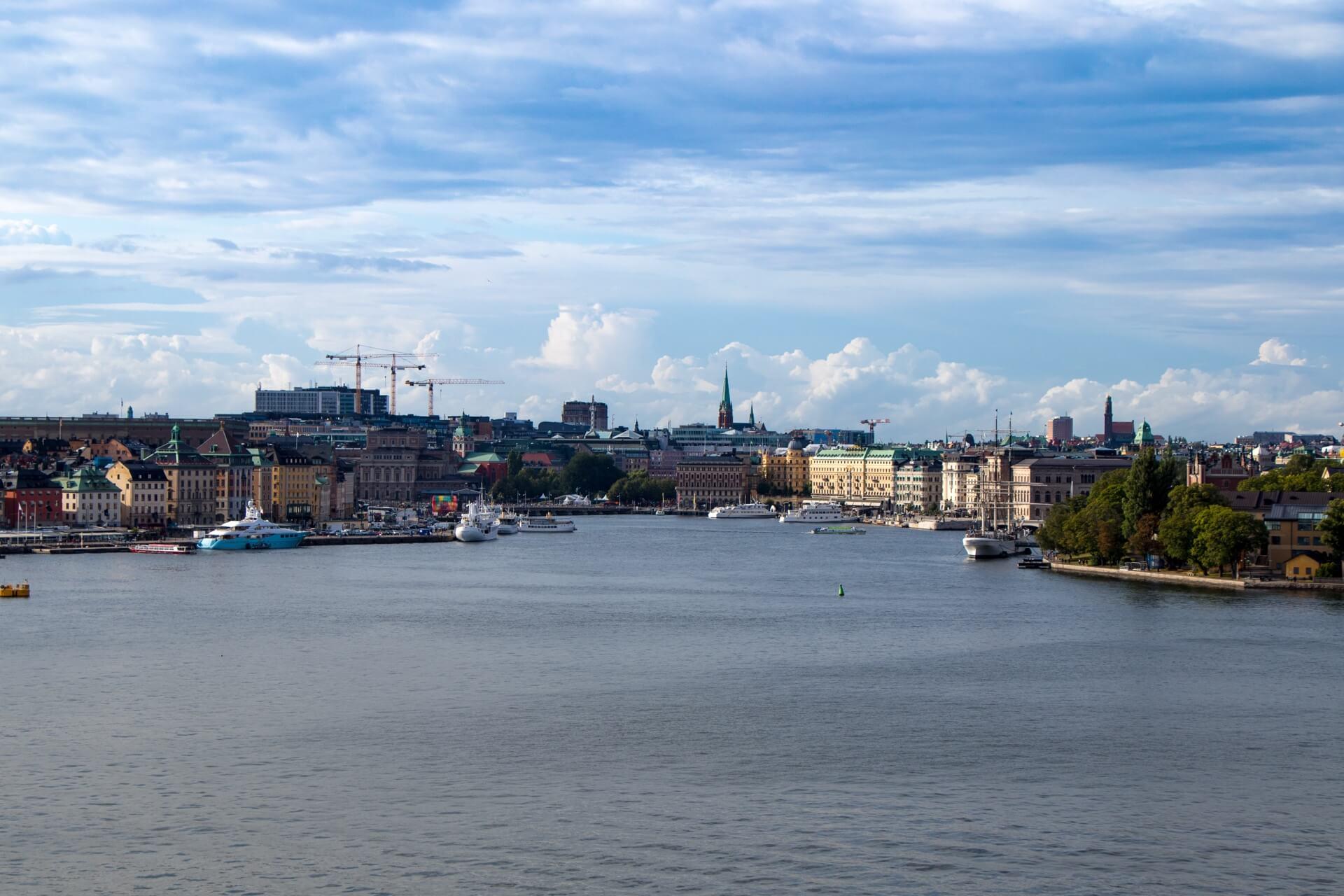 5 jours à Stockholm : point de vue de Fjällgatan