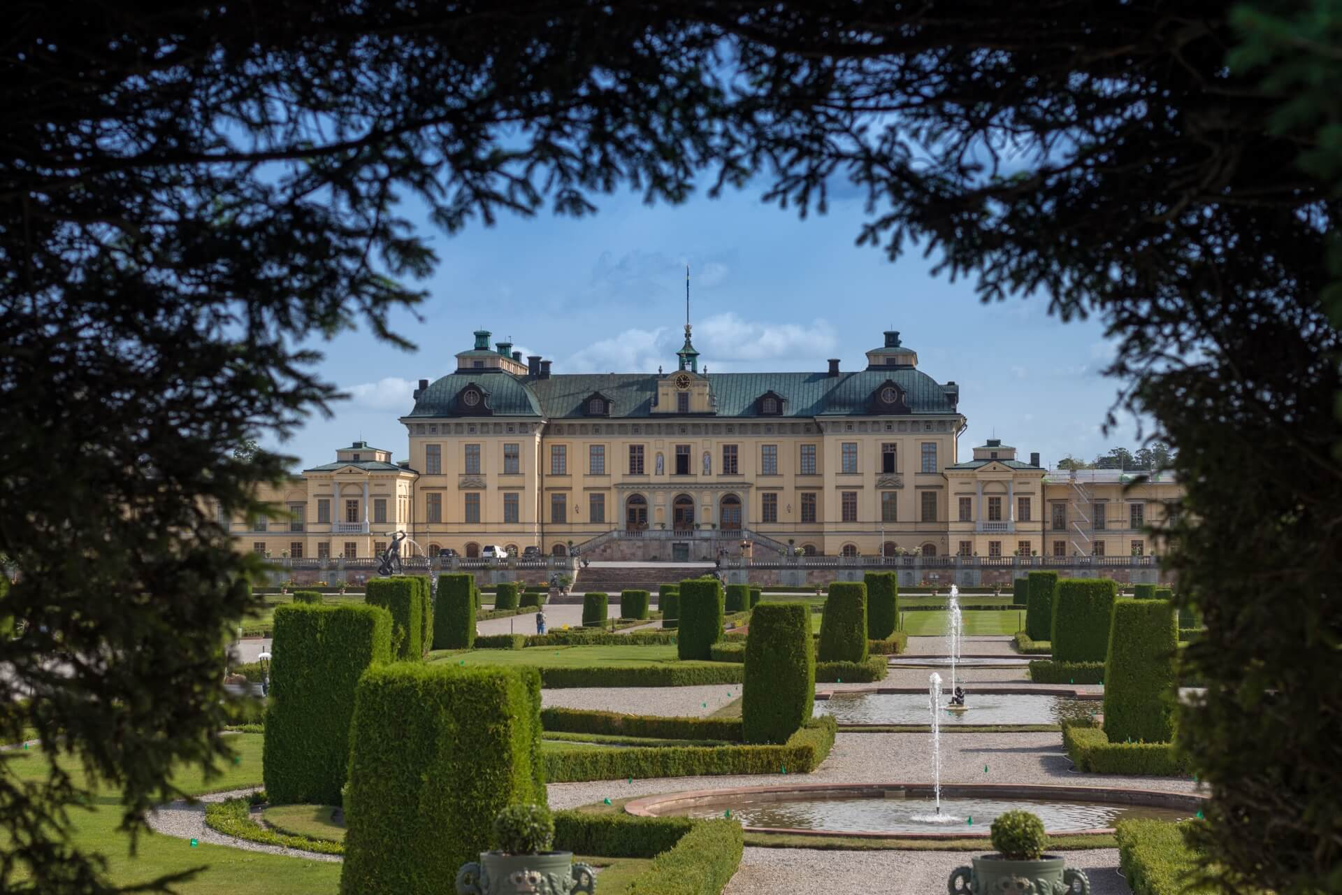 Visiter Palais Drottningholm