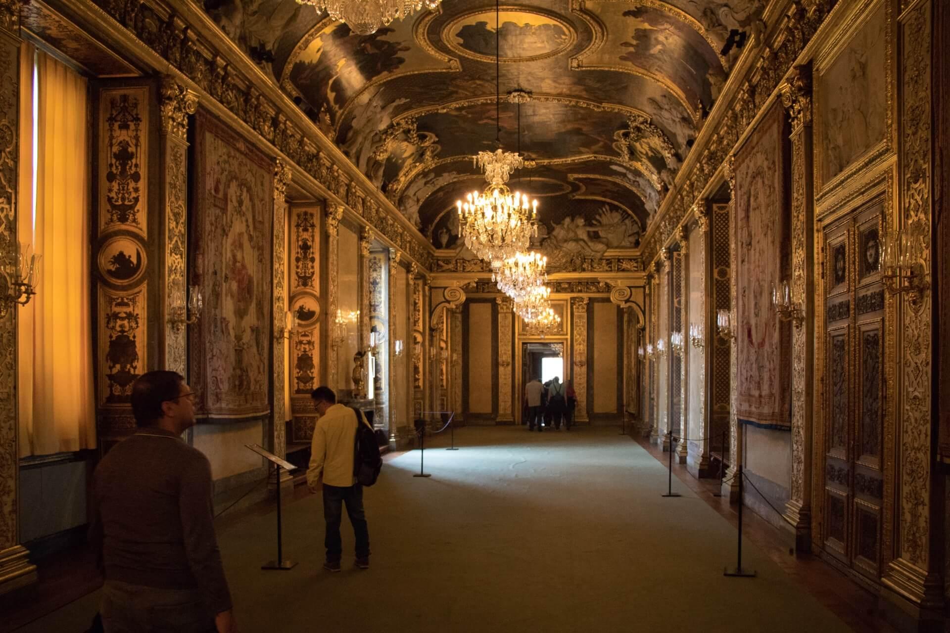 Intérieur Palais Royal Suède