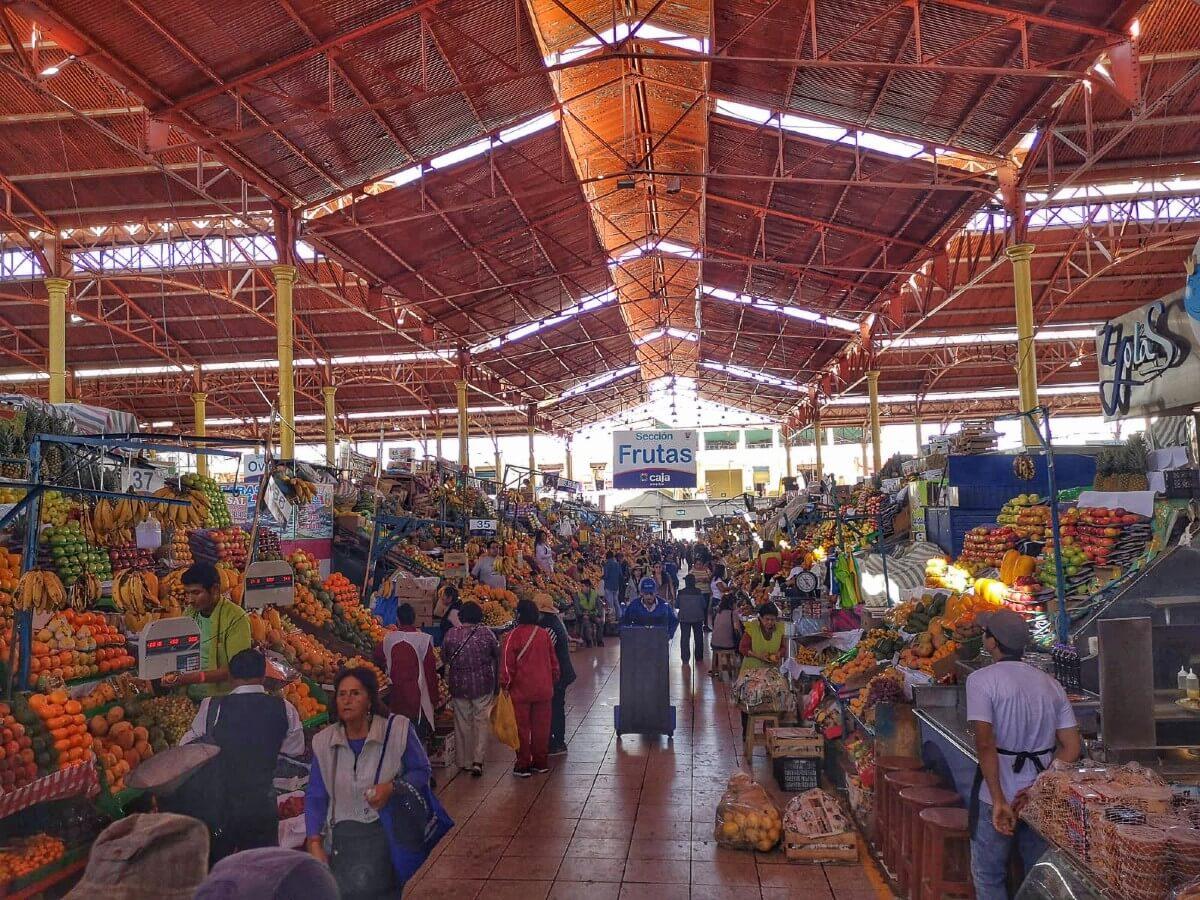 Pérou Mercado San Camilo