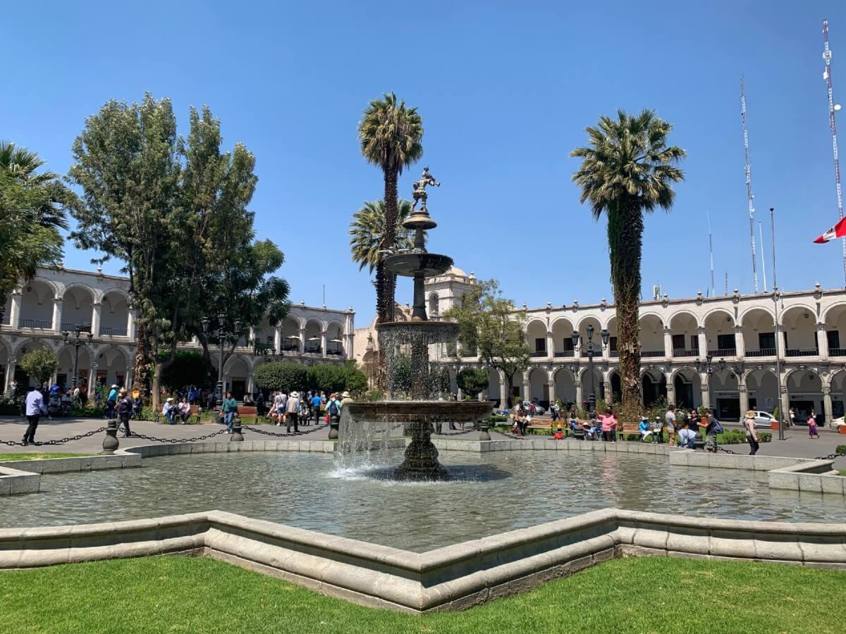 road-trip de 3 semaines au Pérou : Arequipa - Plaza de Armas