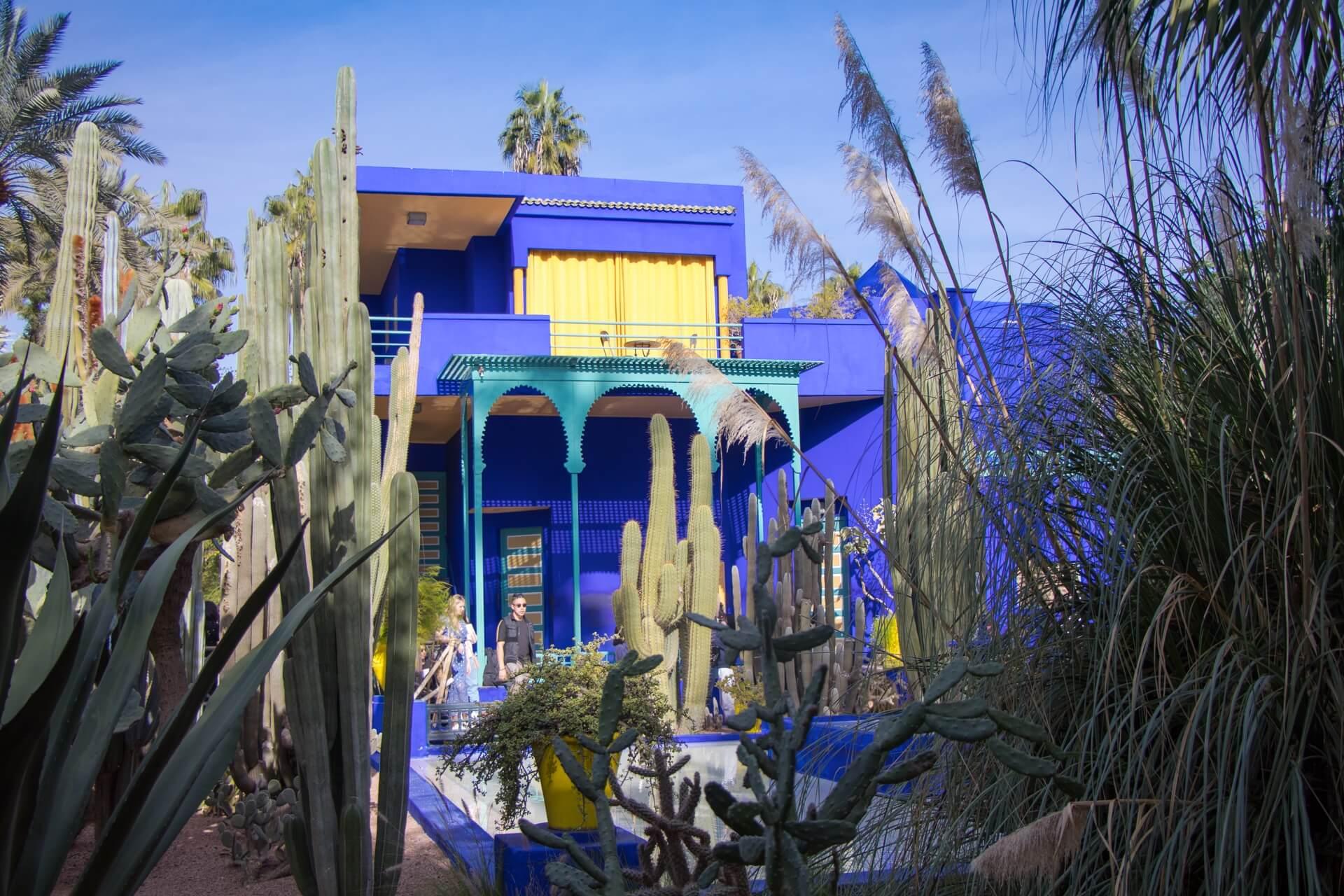 Citytrip de 4 jours à Marrakech - jardin Majorelle