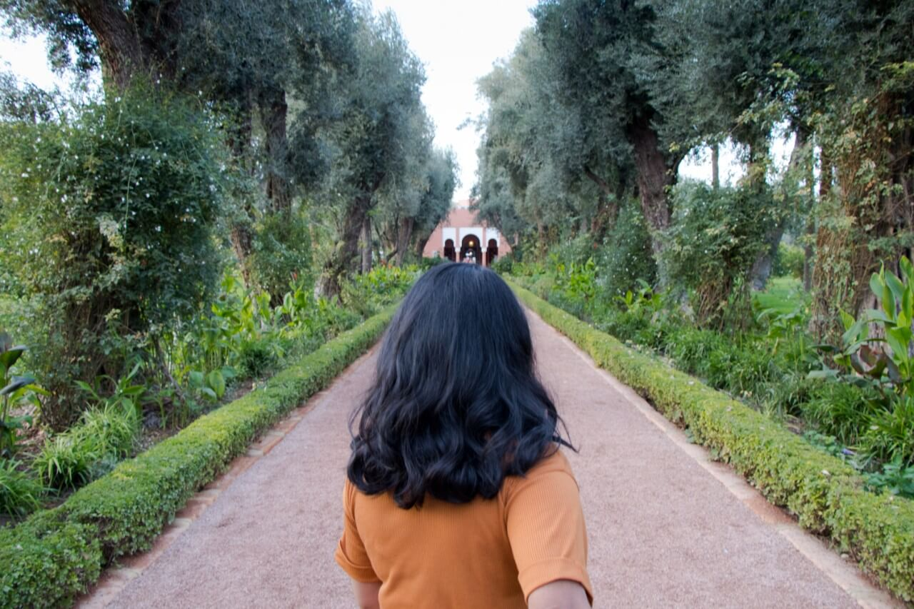 Jardin de la Mamounia à Marrakech