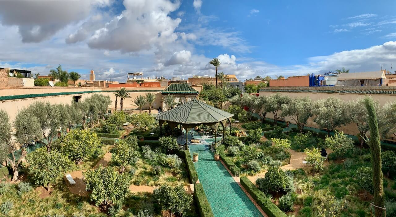 citytrip de 4 jours à Marrakech : jardin secret