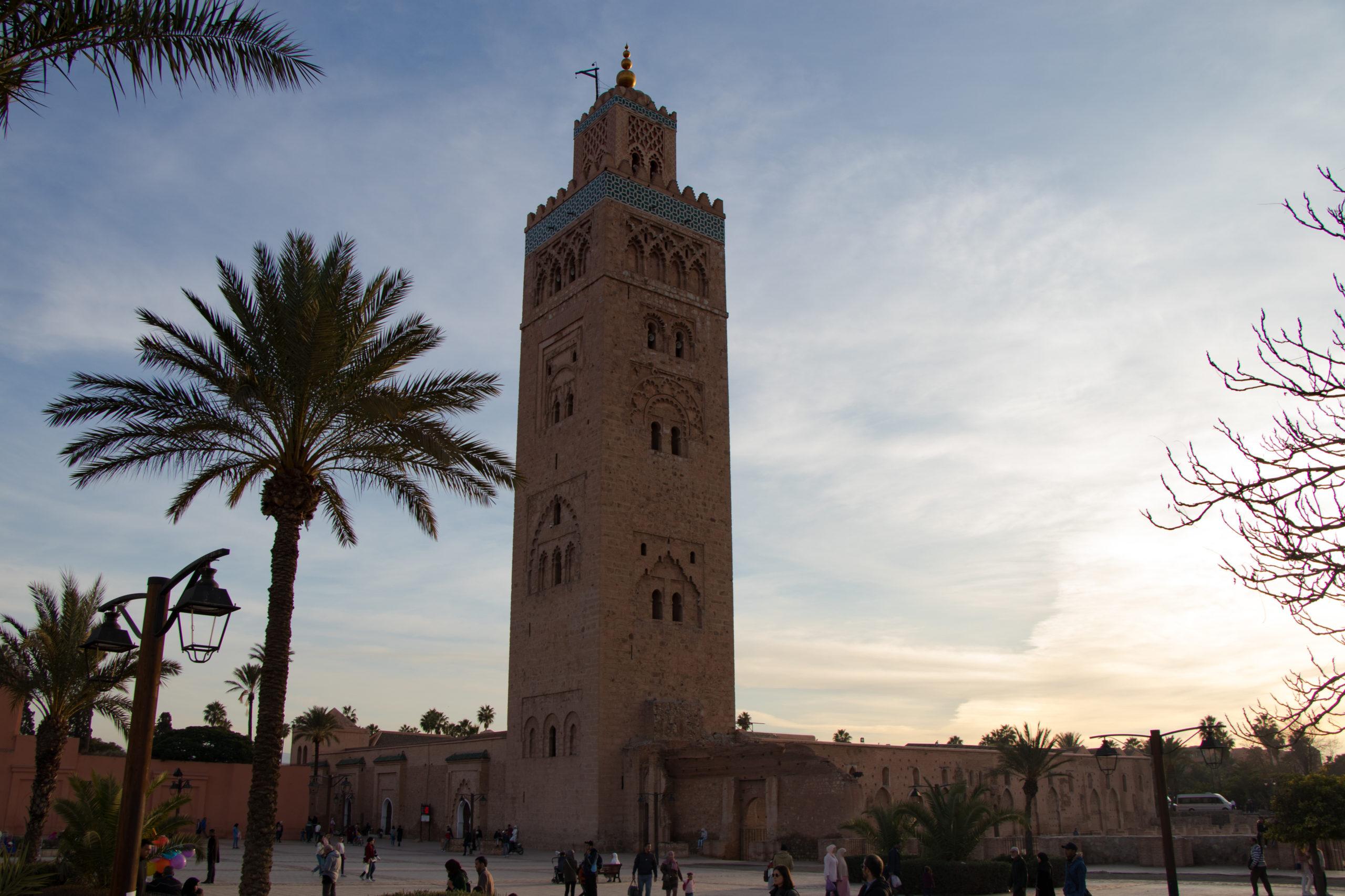 Citytrip de 4 jours à Marrakech -Mosquée Koutoubia