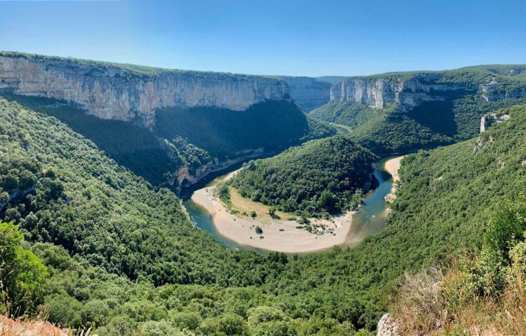 Panorama Gorges de l'Ardèche