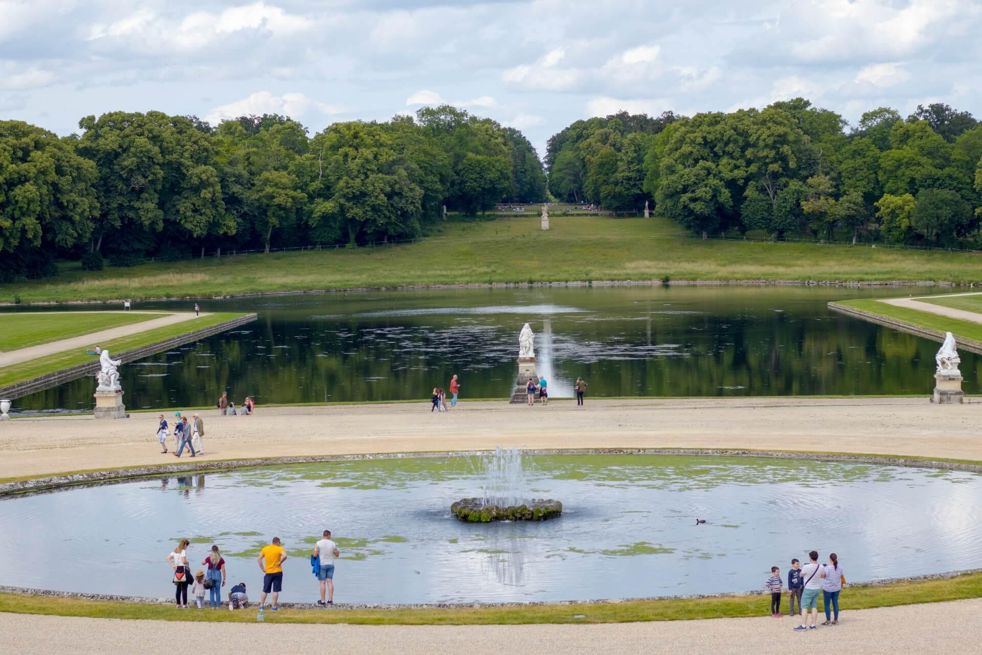 Jardin domaine de Chantilly