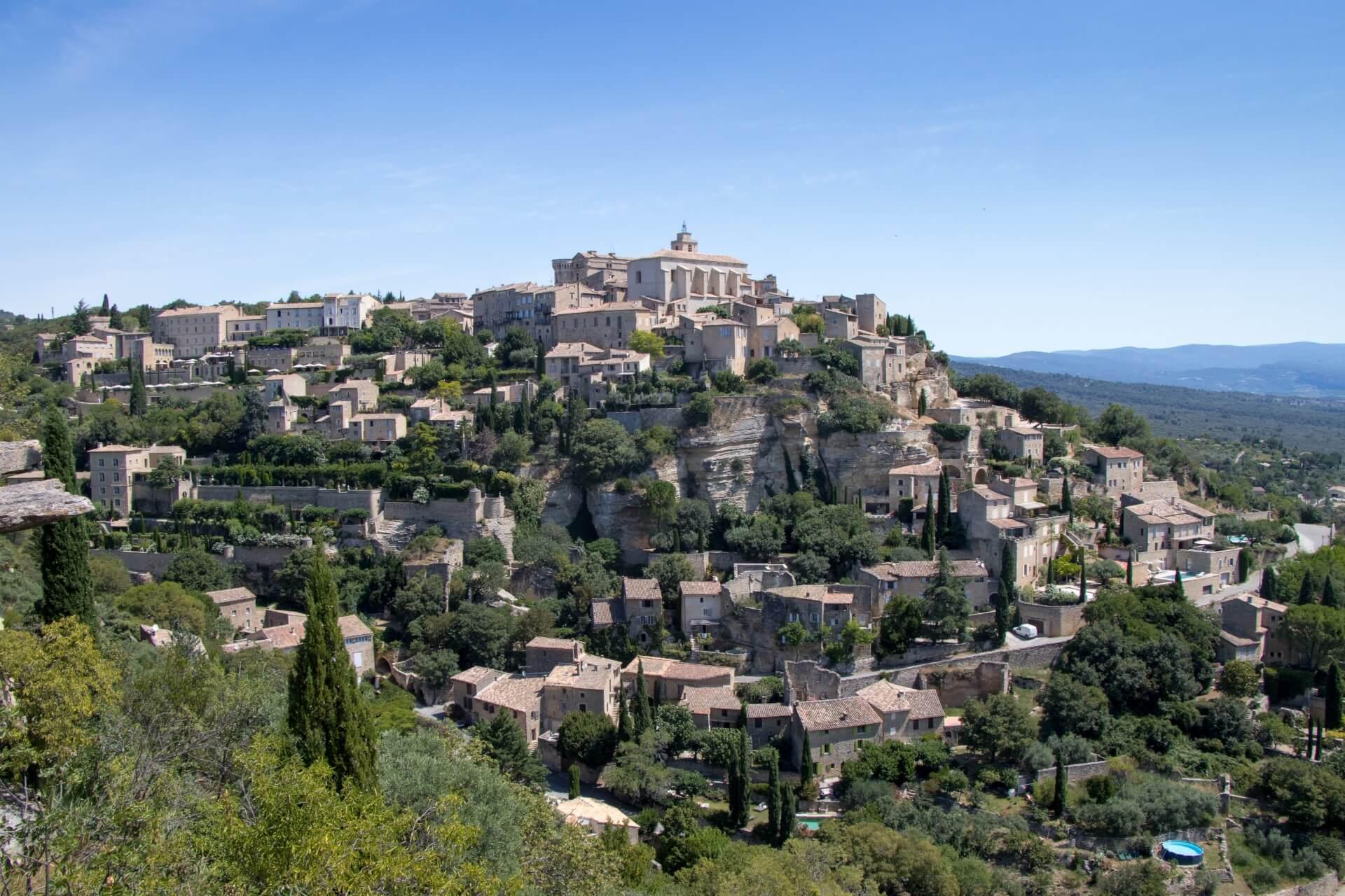 Vaucluse - village de Gordes