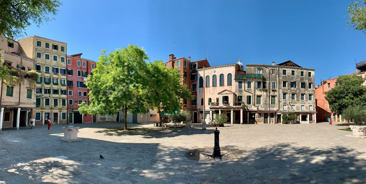 Le Ghetto à Venise pendant le covid